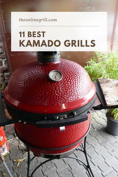 Check out this list of the best kamado grills. Ceramic grills and cookers from brands like Kamado Joe, Char Griller, Weber, Primo, and more. Hibachi Grill, Bbq Grill, Barbecue, Best Charcoal, Charcoal Grill, Best Kamado Grill, Ceramic Grill, Kamado Joe, Best Bbq
