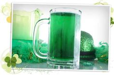 Celebrate St Patrick's Day by making your own green beer and green cocktails.
