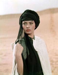 Sophia Loren in Legend of the Lost (1957)