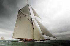 19 metres C1 'Mariquita', 1911, designed by William Fife