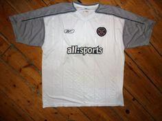 large Heart Of Midlothian + 03/04 HEARTS football shirt jersey trikot camiesta