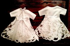 Angel gowns pair