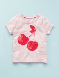 vintage cherry sparkle tee via mini boden