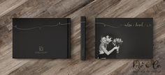 Diagramação de álbum de casamento para a fotógrafa Daniele Avelino.