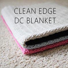 clean edge double crochet