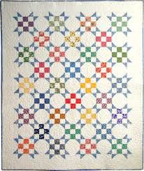Image result for vintage 9-patch quilt