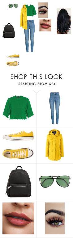 """Casual Outfit"" by helena94-1 on Polyvore featuring Valentino, Converse, Lands' End, MANGO, Sener Besim and polyvorefashion"
