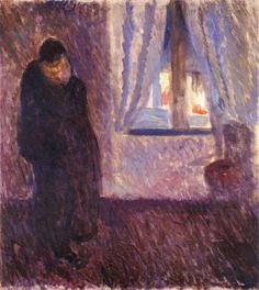 ART & ARTISTS: Edvard Munch. Kiss