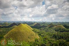 Chocolate Hills, las colinas de chocolate de Bohol