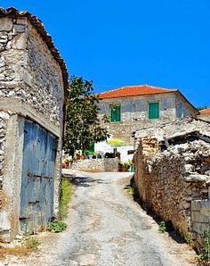 Exo Hora. A beautiful village on the island of Zakynthos, Greece. My mother's birthplace.