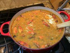 Authentic Real Cajun Crawfish Bisque Recipe, ,