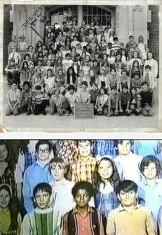 Little Michael Jackson in Gardner Street Elementary School