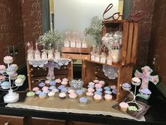 Holy communion Rustic Candy Bar