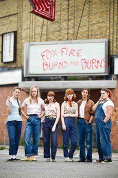 Foxfire burns and burns. Badass teenage delinquent girl gangs.
