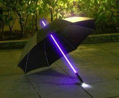cool technology | tech | gadgets | umbrella | light saber