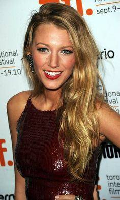 Blake Lively. She will just get more gorgeous with age.