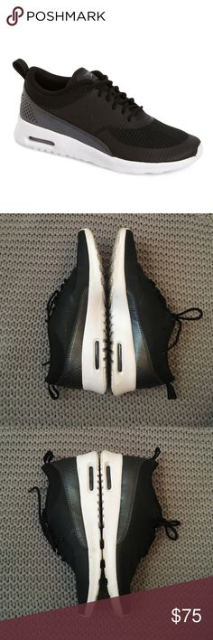"""Nike Airmax """"Thea"""" Black nike Thea style. Amazing condition. Only worn once. No trades. Nike Shoes Athletic Shoes"""