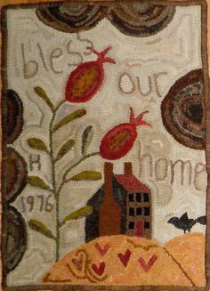 Handmaiden Designs - Bless Our Home