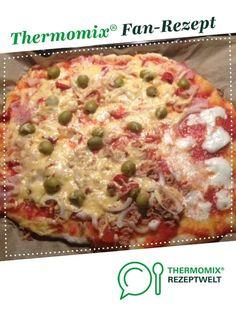 Pizzateig von Jamie Oliver (der Weltbeste; meiner Meinung nach) von Martina1511. Ein Thermomix ® Rezept aus der Kategorie Backen herzhaft auf www.rezeptwelt.de, der Thermomix ® Community.