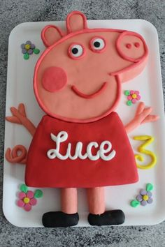 The Maichi creations: Peppa Pig Cake More