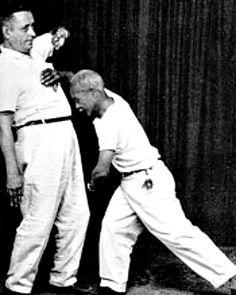 Mestre Pastinha demonstrating Angola Capoeira