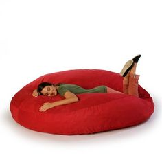 OMG... I want to be on this. right. now.  Cocoon Cinnabar by Jaxx Beanbags @Fab.com