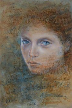 """Lidia Zdzieszyńska, """"Alienation"""", oil, 120/80cm, 2016"""
