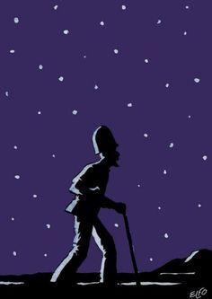 """Giancarlo Ascari (in arte Elfo) disegna e scrive per le riviste Alter Alter, Linus, Il Manifesto, L'Unità, Il Giorno, La Repubblica, Il Corriere della Sera e tanti altre. Organizza inoltre mostre di fumetto e illustrazione in Italia e all'estero. Ha pubblicato la graphic novel """"Love Stores"""" (Coconino Press), """"Tutta colpa del '68"""" (Garzanti), """"Quelli che Milano"""" e l'almanacco """"Il Barbarossa"""" (RCS, con Matteo Guarnaccia) e """"Sarà una bella società"""", un libro a fumetti sull'utopia."""