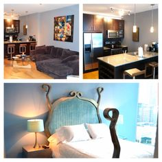A few shots of our 1 bedroom #EnvChicago Luxury #Apartments!