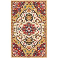 You'll love the Sahab Hand-Tufted Red Area Rug at Wayfair - Great Deals on all Rugs  products with Free Shipping on most stuff, even the big stuff.