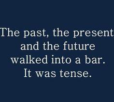 Hahahaaa...you've gotta love grammar jokes! #grammarnerd