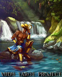 #logun #Ede #logunede #logunedé #logum #logumede #orixa #oricha #orisha #mythology #yoruba #mitologia #healer #vudu #tarot #project #vudutarot #cards #art #artstagram #beauty