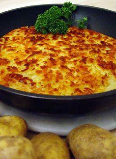 Low FODMAP & Gluten free Recipe - Mozzarella & bacon rosti