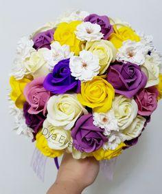 Buchet cu flori de săpun Rose, Desserts, Tailgate Desserts, Pink, Deserts, Postres, Dessert, Roses, Plated Desserts