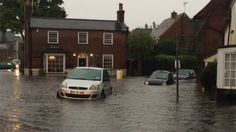 Essex 2014 - Storms described as intense cause flooding across parts of southern and eastern England, with a number of roads and homes flooded in Essex.