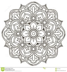 Mandala. Round Ornament - Download From Over 46 Million High Quality Stock Photos, Images, Vectors. Sign up for FREE today. Image: 46274660