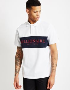 Billionaire Boys Club Monaco Polo Shirt White   Shop men's street wear clothing at The Idle Man