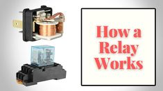 Electromagnetic Relay - How a Relay Works - Electromagnetic Relay Switch Engineering Science, It Works, Learning, Studying, Study, Teaching