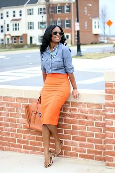 Like pencil skirts but would love to try something that is fit than flares a bit more at the hips or bottom. Love the vibrant color of this item.