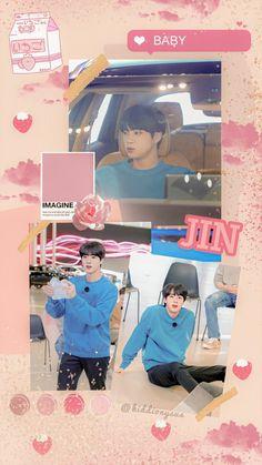 Bts Jin, Bts Bangtan Boy, Jungkook Fanart, K Pop, Seokjin, Bts Pictures, Photos, Run Bts, Bts Lockscreen