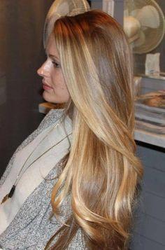 hair blonde degradè - Cerca con Google
