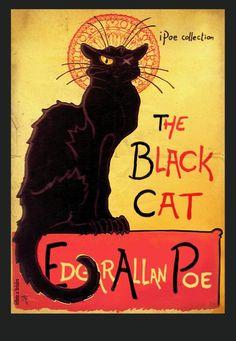 A tribute to Poe & Steinlen.