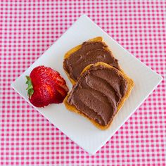 Homemade Chocolate Hazelnut spread... Use this homemade nutella instead of the stuff from the store and feel good about spreading it on anything!