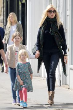 Claudia Schiffer's Girls' Day Out