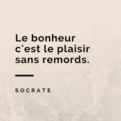 Citation sur le bonheur de Socrate