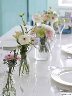 kukat,vappu,olohuone