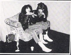 Siouxsie Sioux & Lydia Lunch