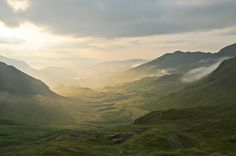 Little Langdale from Wrynose Pass