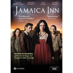 Jamaica Inn DVD   Set in Cornwall, England in 1821, Daphne du Maurier's classic Gothic tale of romance, intrigue, smuggling and murder on the windswept Cornish moors comes to vivid life in this enchanting production that aired on the BBC in 2014.