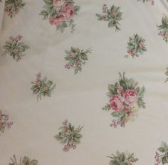 A personal favorite from my Etsy shop https://www.etsy.com/listing/520180841/westpoint-stevens-pink-floral-twin-flat